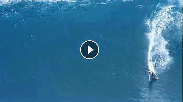 Nic Vaughan at Jaws - 2015 Wipeout of the Year Entry - XXL Big Wave Awards