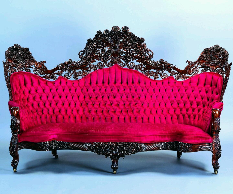 Vintage Retro Style Stunning Patchwork Sofa Bed Nolana Beautiful Antique Designs Romantic Home