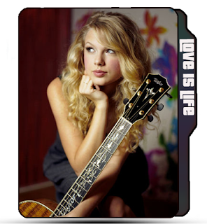 Singer Taylor Swift guitar pose, cute girl taylor swift, blonde girl, guitar girl icons, taylor swift folder icon, taylor swift.