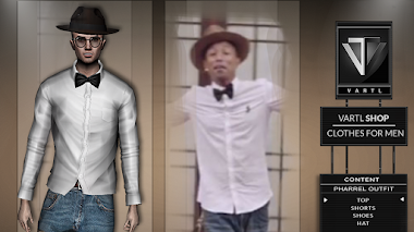 PHARRELL OUTFIT