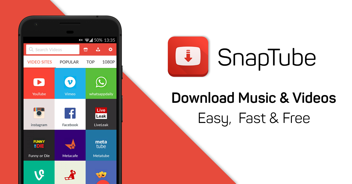 Snap Tube Beta For Android