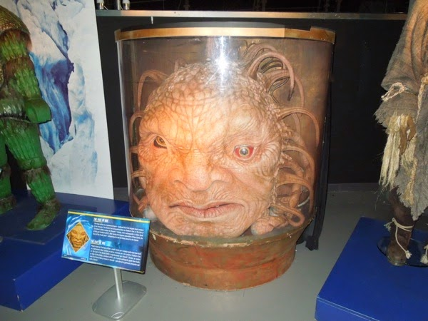 Face of Boe Doctor Who exhibit