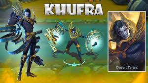 Build Hero Khufra, Hero Tank Baru Mobile Legends Dengan Skill Yang Menyakitkan