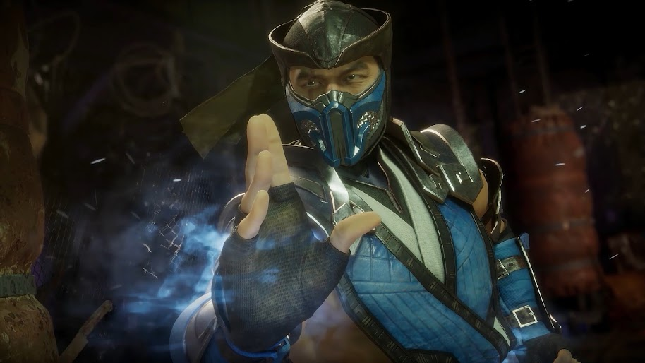Sub Zero Mortal Kombat 11 4k Wallpaper 24