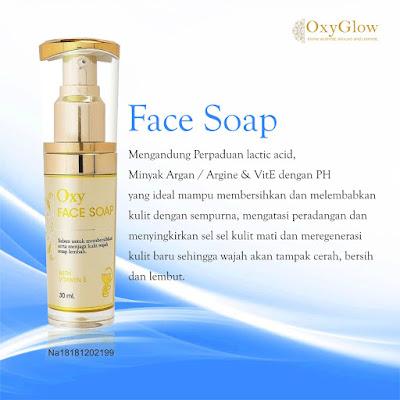 oxy face soap
