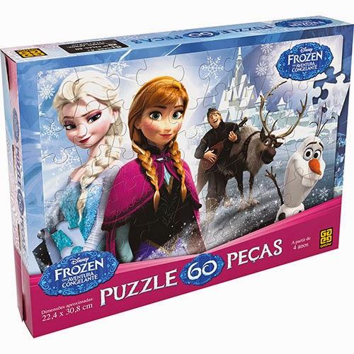 Quebra- Cabeça Filme Frozen