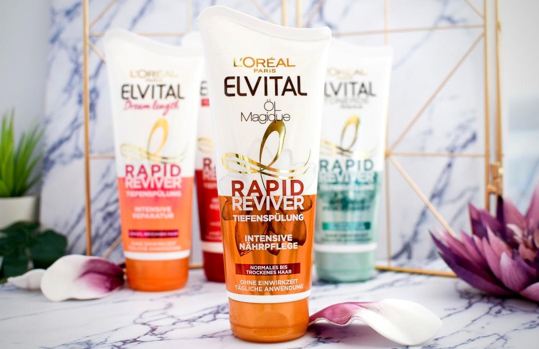 Elvital Öl Magique Rapid Reviver Tiefenspülung für normales und trockenes Haar | Erfahrungen