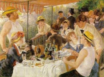 Le dejeuner des canotiers –P-A Renoir