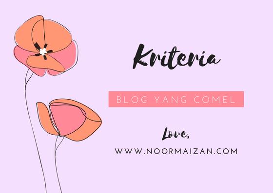 5 Kriteria yang Perlu Ada Untuk Blog Nampak Comel