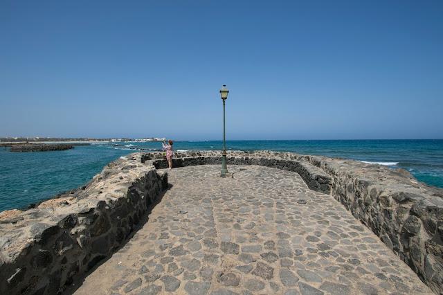 Spiaggia di Caleta de Fuste-Hotel Sheraton-Fuerteventura