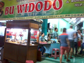 Kuliner Gudeg Wijilan Bu Widodo - Yogyakarta
