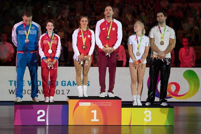 Polonia se llevó su último oro en los Juegos Mundiales 2017 en el baile deportivo