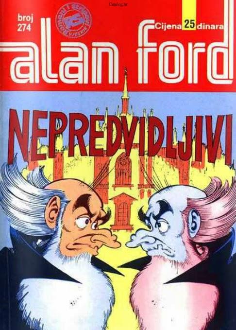 Nepredvidljivi - Alan Ford