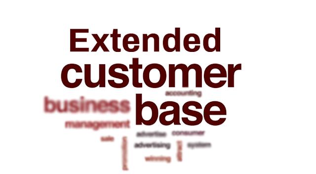 Extended customer base