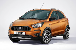 Ford Ka+ Active (2018) Front Side