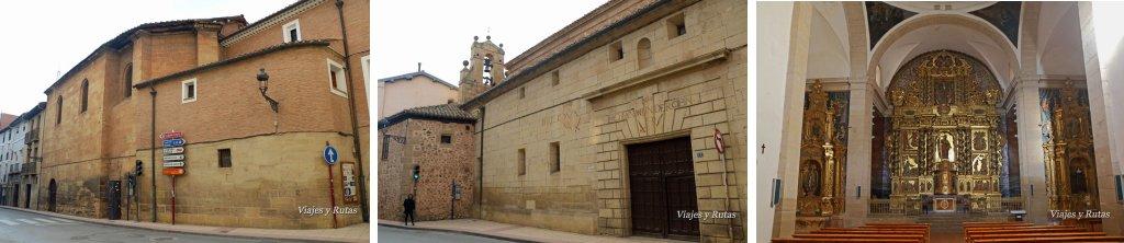 Capilla de la Madre de Dios y Monasterio de Santa Elena de Nájera