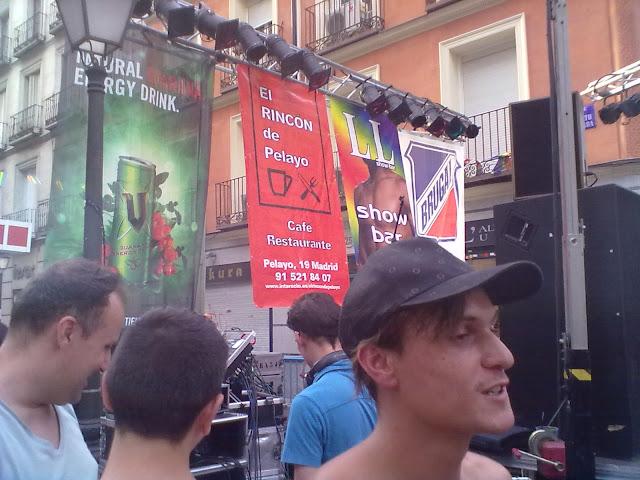 Concierto de Soraya Arnelas en las fiestas del Orgullo gay 2012