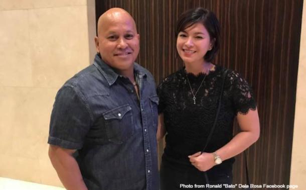 'Ding ang Bato': PNP chief finally meets his crush Angel Locsin