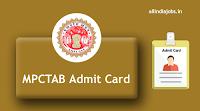 MPCTAB Admit Card