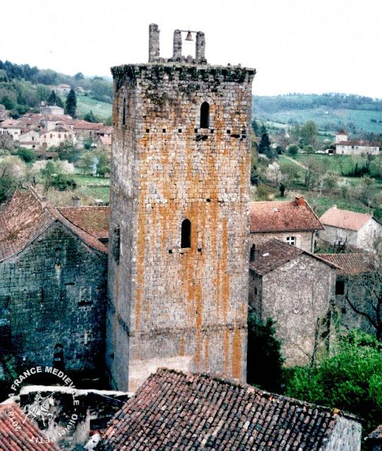 CARDAILLAC (46) - Tours de l'Horloge et de Sagnes (XIIIe siècle)