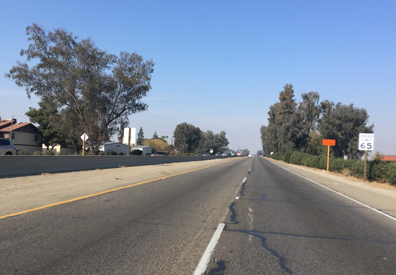 as state previously ca 204 was once part of us 99 but was not fully the original alignment through the city of bakersfield us 99 originally appears to have