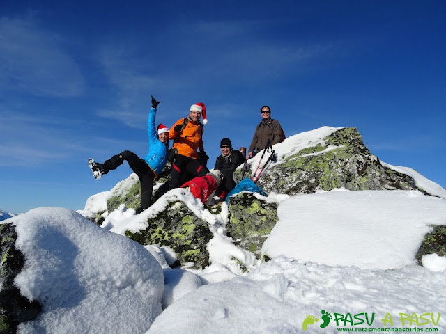 Cima del Pico San Justo