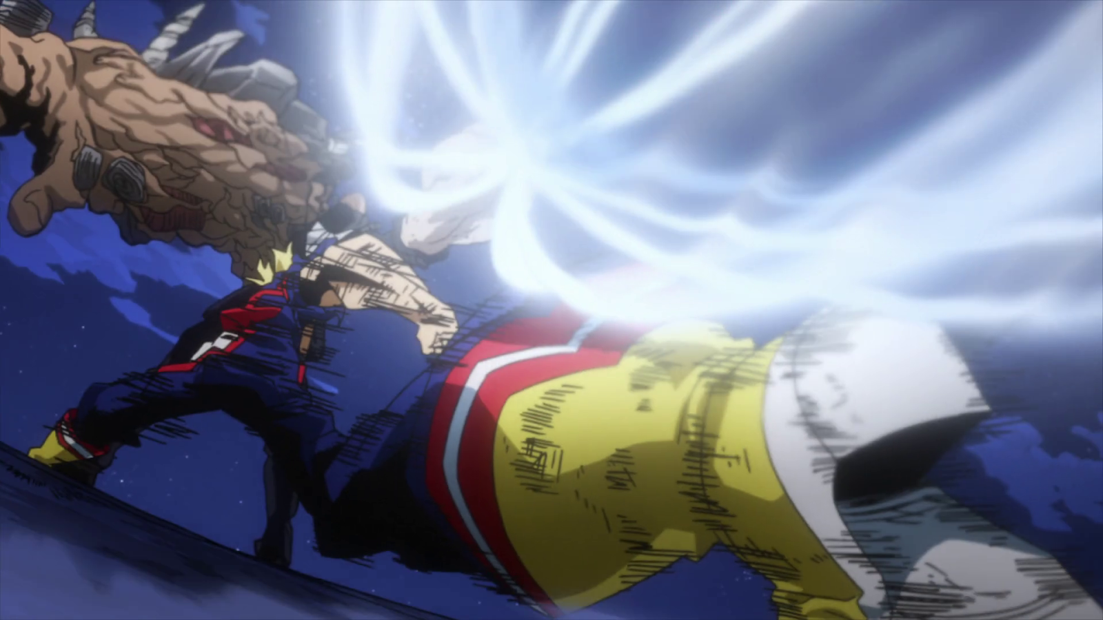 Boku No Hero Academia Cap 11 All Might Vs All For One El Final
