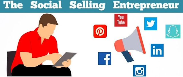 social selling entrepreneur blog social media marketing blogger outreach