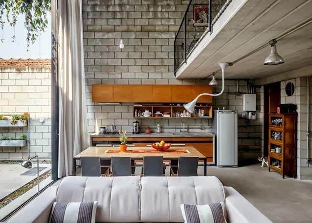 Inmodesarrollo fachadas minimalistas estilo loft industrial for Cocina industrial tipo loft