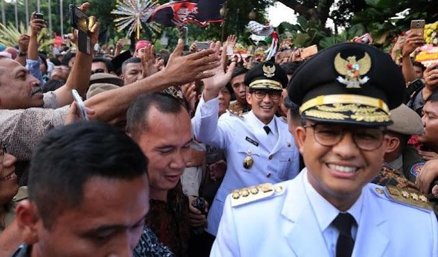 Pakai Pepatah Batak, Anies: Kumpulkan Energi Bangun Jakarta
