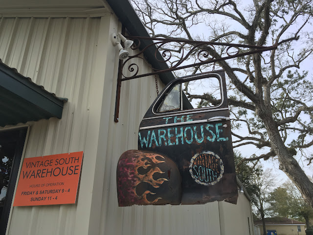 The Lowcountry Lady visits Vintage South Warehouse