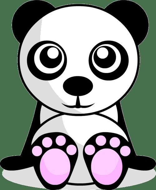 Dibujos De Osos Pandas Tiernos Para Colorear Imagui