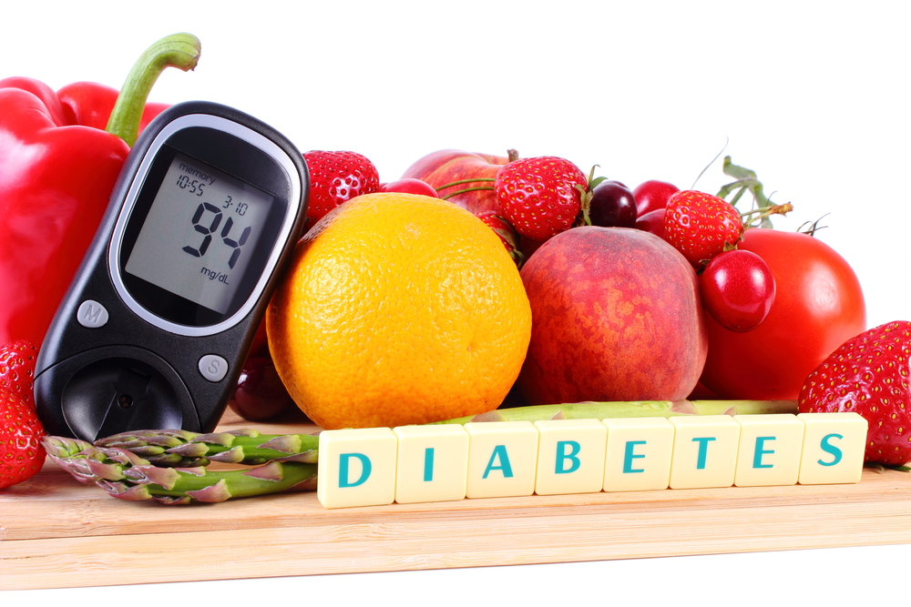 dieet vir diabetes 2
