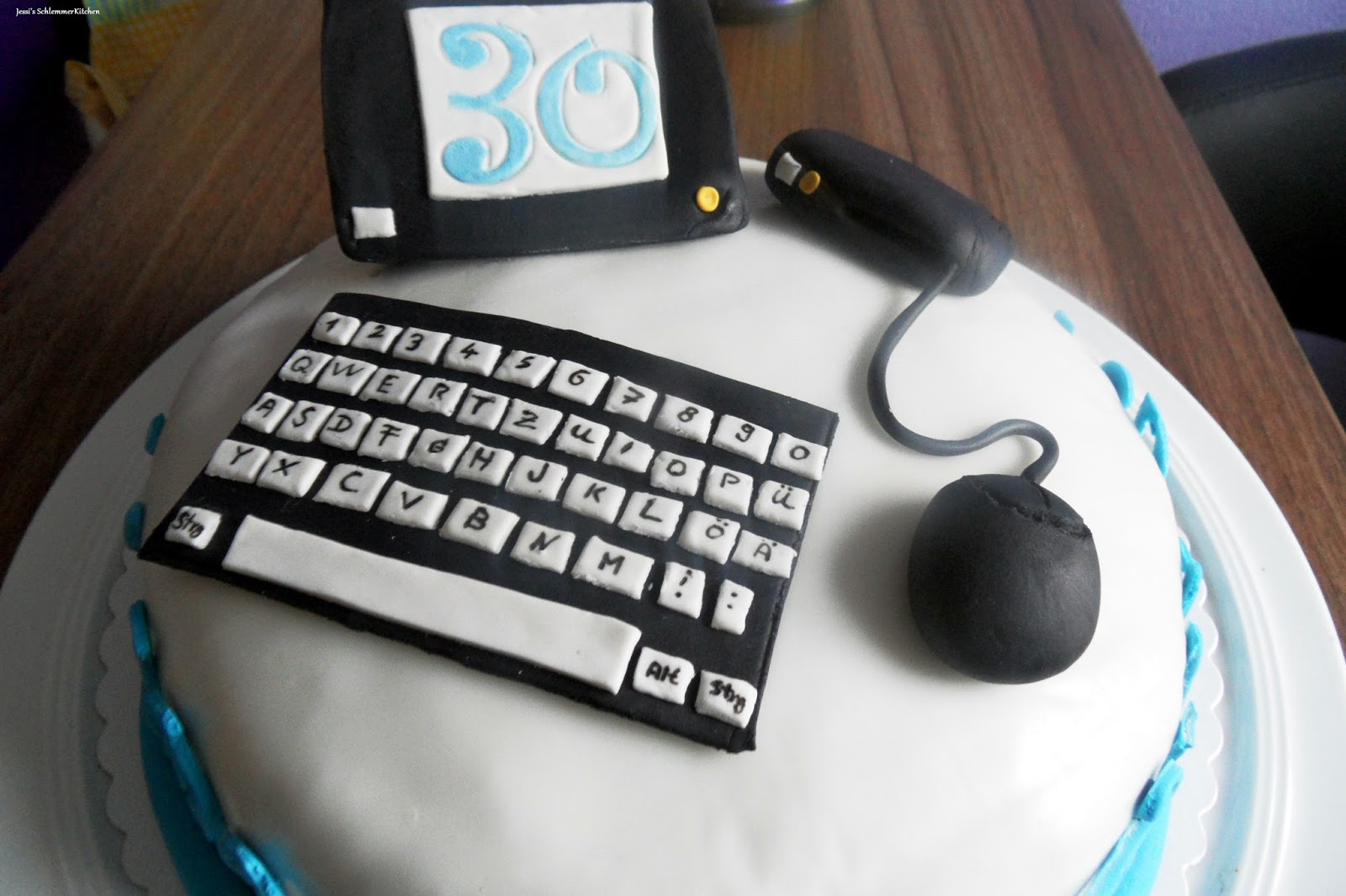Keyboard Kuchen Pc Torte
