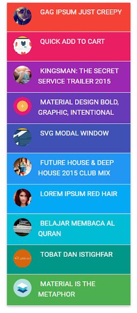 Tạo Popular Post Nhiều Màu Cho Blogspot