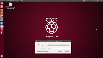 instalar raspbian desde Linux