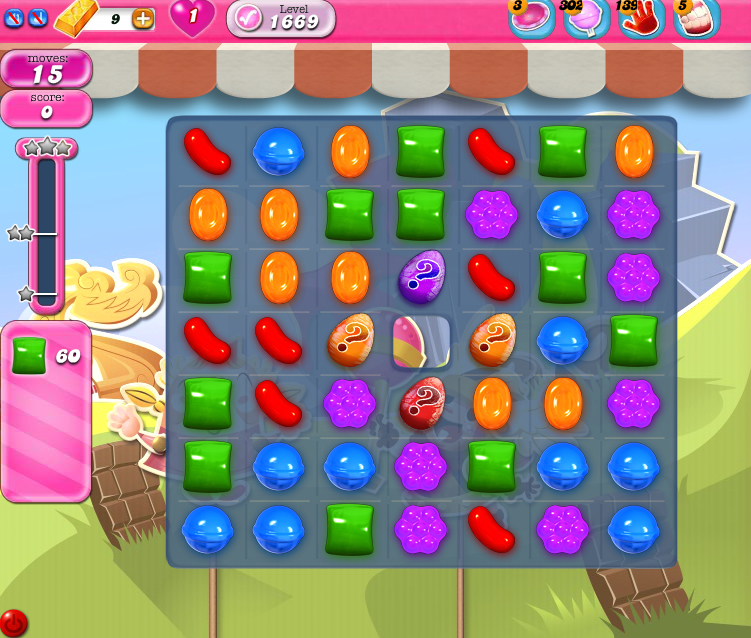 Candy Crush Saga 1669