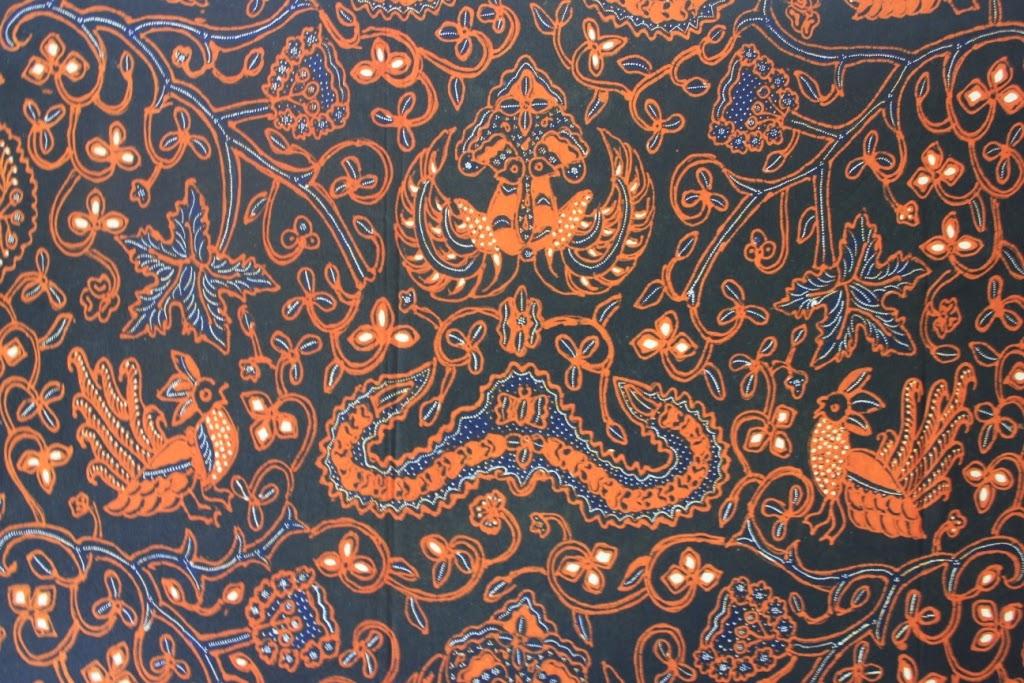 Motif batik Wahyu Temurun, sering digunakan pada malam Midodareni