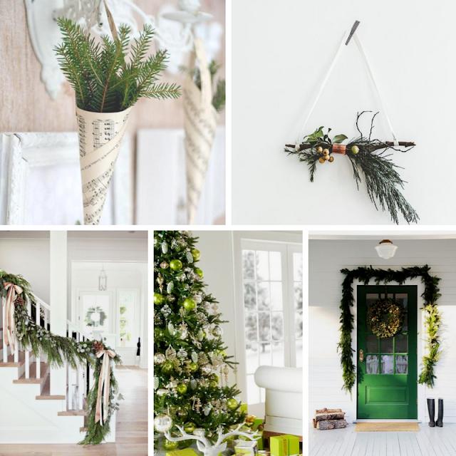 Decoração de Natal em Verde