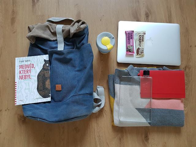 Součástí každého kempu je efektivně zbalený batoh a část svačiny snědená už doma.
