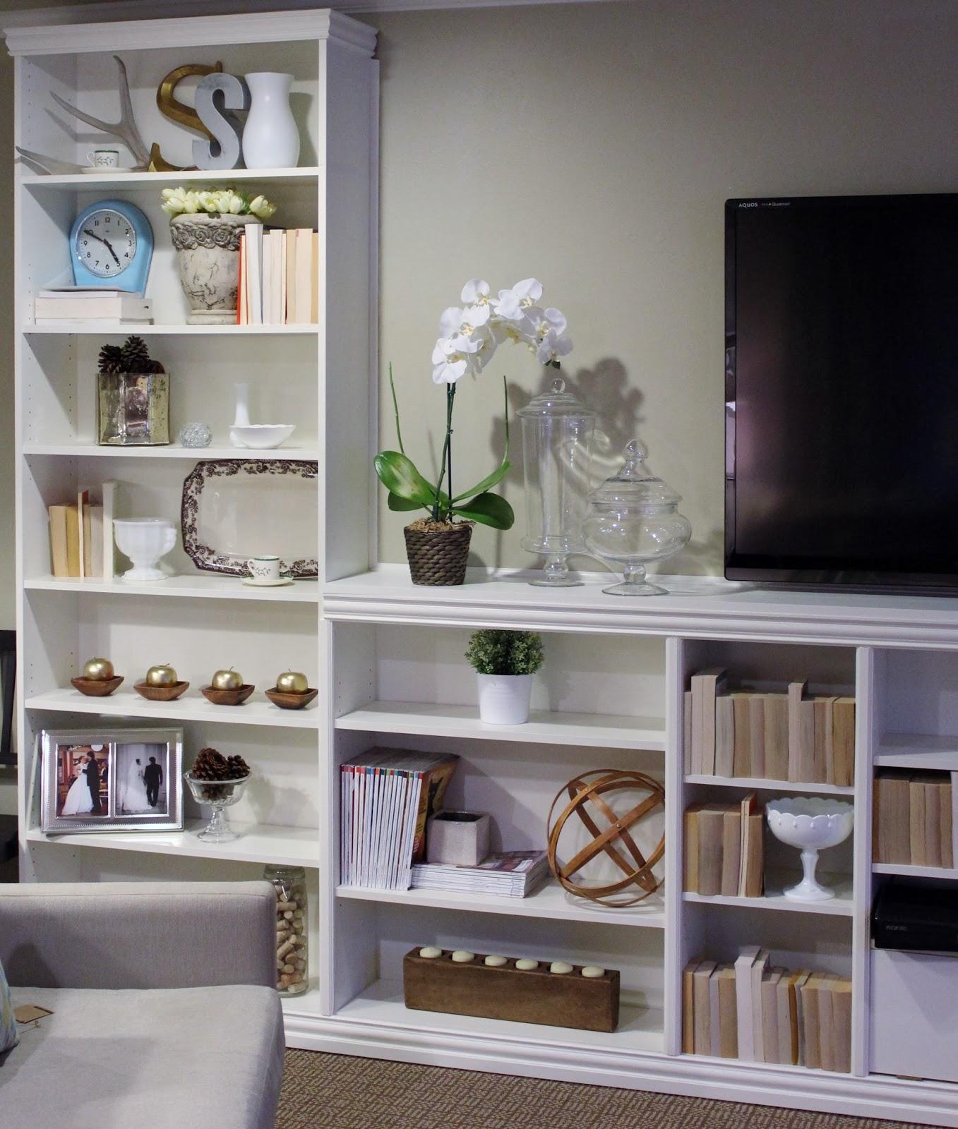 Built In Bookshelve: Elementary Organization: Billy Bookcase Built-in Bonanza