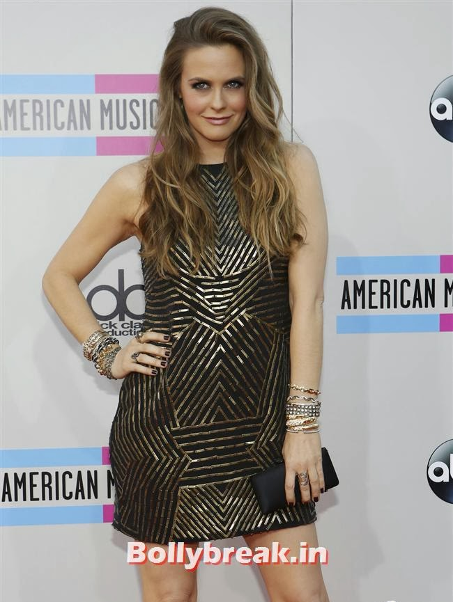 Alicia Silverstone, American Music Awards 2013