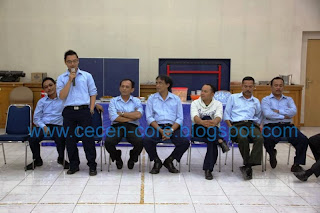 Memberikan kesan dan salam perpisahan pada para pegawai KPPN Medan I menjelang mutasi ke KPPN Banda Aceh