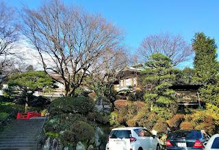 緑に囲まれた富士屋ホテル