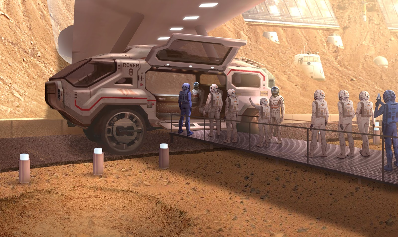 mission to mars concept art - photo #14