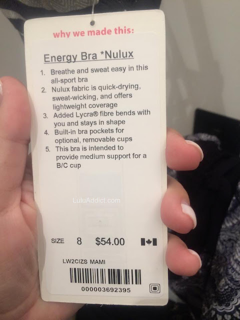 lululemon energy-tag