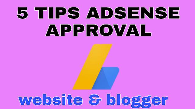 get website approved adssense