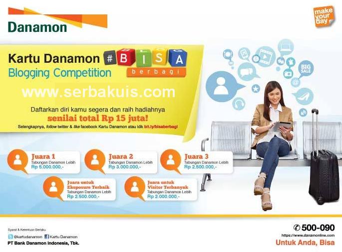 Kontes Blog Kartu Danamon #BISAberbagi Berhadiah Uang Total 15 JUTA