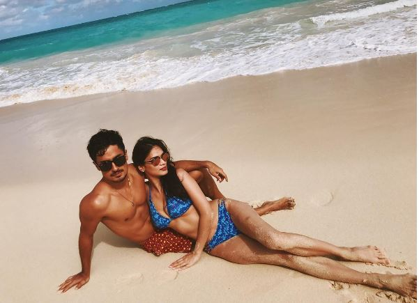 Pia Wurtzbach is in a relationship with Marlon Stockinger