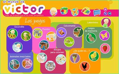Juegos Educativos Para Ninos De 3 A 5 Anos Los Juegos De Victor
